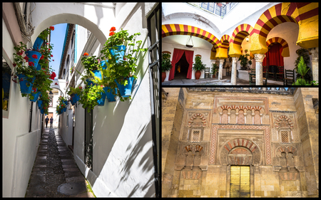 Collage of Cordoba Spain. 写真素材