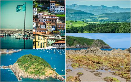 Collage of Asturias Spain