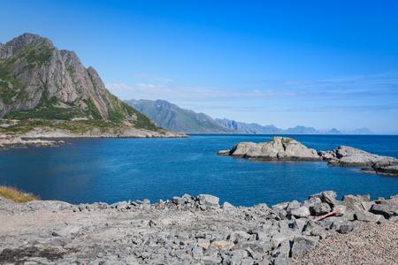 lofoten islands norway Stock Photo