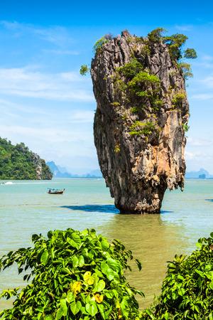 James Bond Island on Phang Nga Bay, Thailand