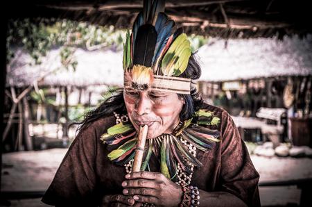 先住民アマゾン 報道画像