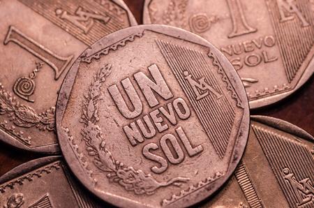 1 Peruvian nuevo sol coin