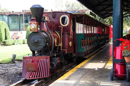 Vintage Steam engine locomotive train , typical vintage train.