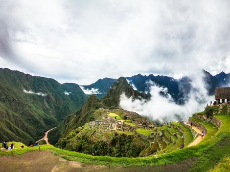 Machu Picchu - Wonder of the World, World Heritage Site, The Lost City in Peru - Cusco