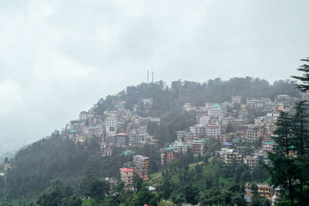 Not Brazil Nor Argentina Its my India. The beautiful panoramic landscape of Shimla situated in Himachal Pradesh