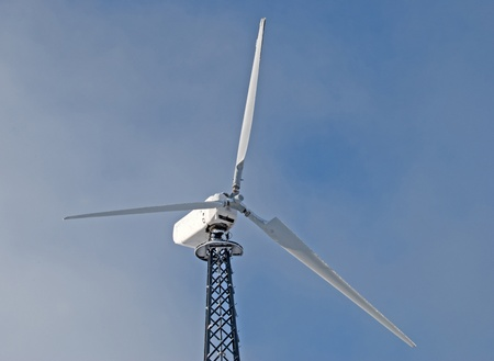 wind turbine on a background sky Stock Photo - 12476256