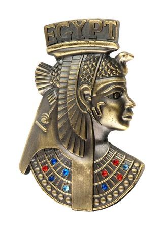 head staue of egyptian queen Cleopatra Stock Photo - 13004091