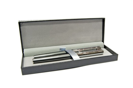 a pens in a box photo