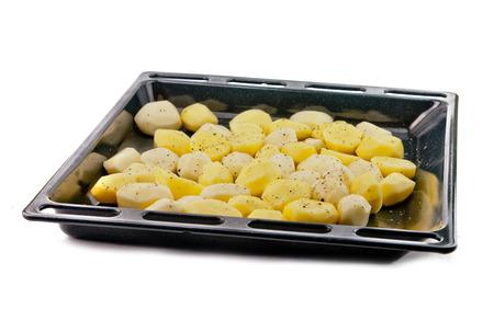 prepared potato: the prepared potato is in a ferrous form