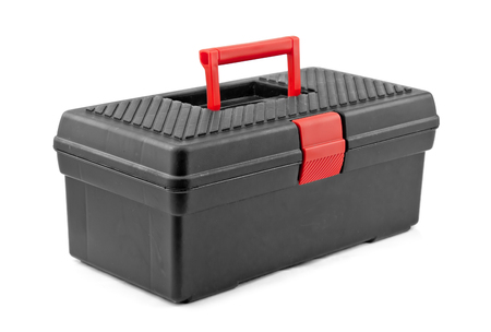 tool box isolated on white background photo