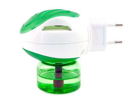 repellant: anti mosquito fumigator. Close up