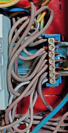grounding: grounding electric bar - part of telecomunication equipment