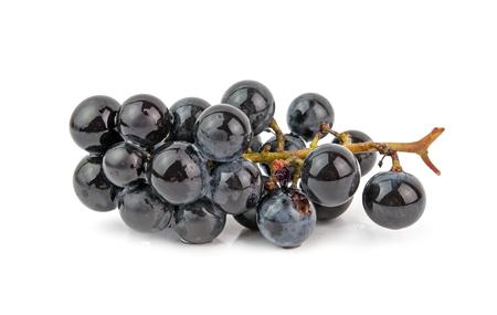 grape: grape vine isolated on white background
