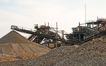 conveyors: conveyors in a stone quarry