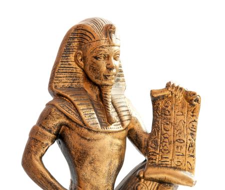 old Egyptian pharaoh Statue