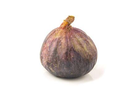 Fig isolated on white background Stock Photo