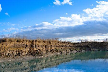 layer of soil beneath section Stok Fotoğraf