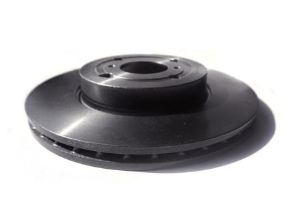 New Brake disc isolated on white Standard-Bild