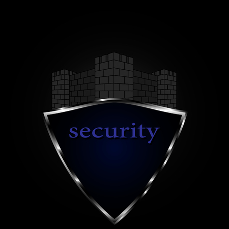 logo for security, safety, protection