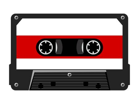 Audio cassette Stock Vector - 10763919