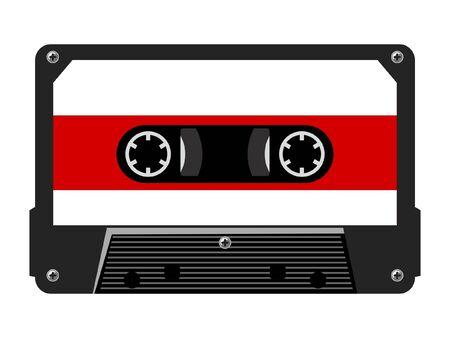 cassettes: Audio cassette Illustration