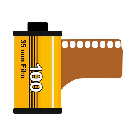 35mm film Stock Vector - 10763918