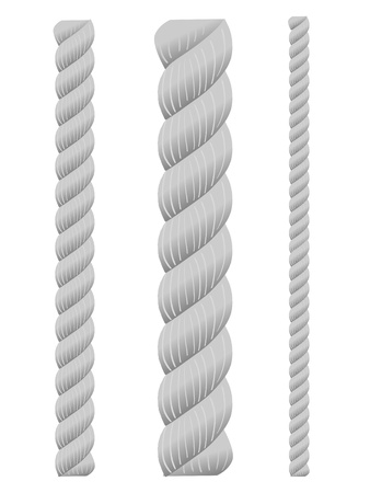 fastening: set of ropes