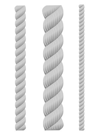 lineas horizontales: un conjunto de cuerdas