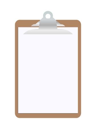 portapapeles: Portapapeles en blanco