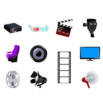 The set of the different cinematographic objects