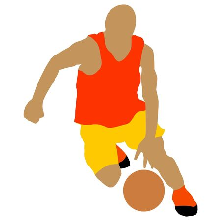 basketball player Stock Vector - 11649142