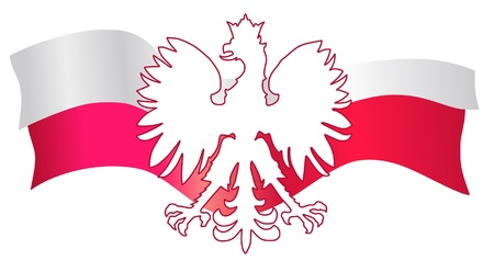 poland flag: Symbols of Poland