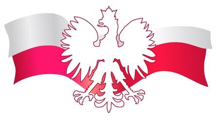 poland flag: Symbols of Poland