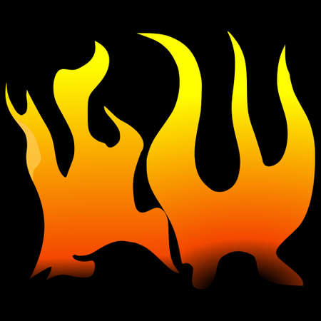 texture of flame Stock Vector - 11752447