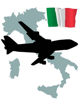 fly me to the Italy Stock Vector - 11751794