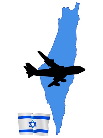 israel flag: fly me to the Israel