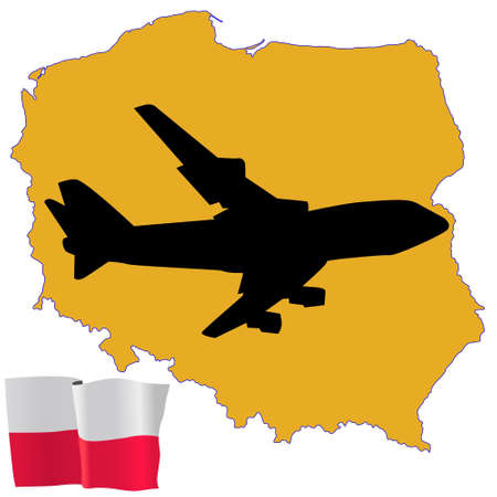 fly me to the Poland Stock Vector - 11751811
