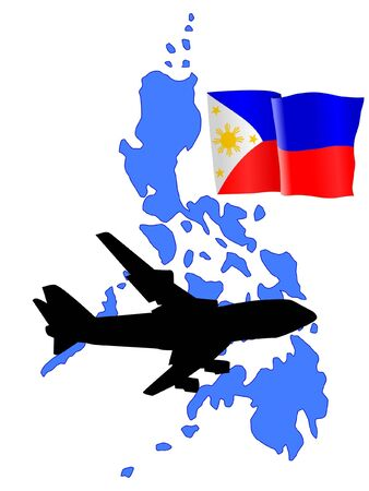 philippines flag: fly me to the Philippines