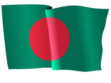 bangladesh: flag of Bangladesh