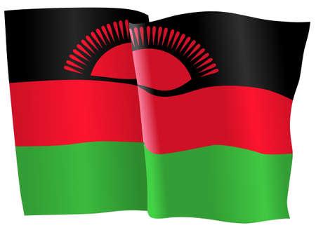 malawi: flag of Malawi