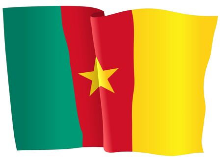 cameroon: flag of Cameroon