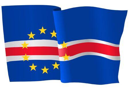 cape verde: flag of Cape Verde