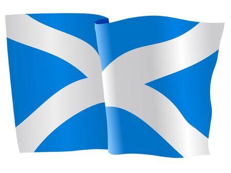 flag of Scotland Stock Vector - 11751725