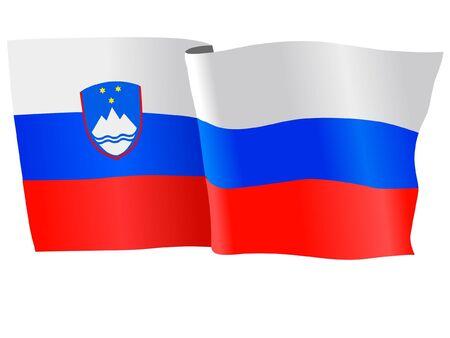 flag of Slovenia Stock Vector - 11751687