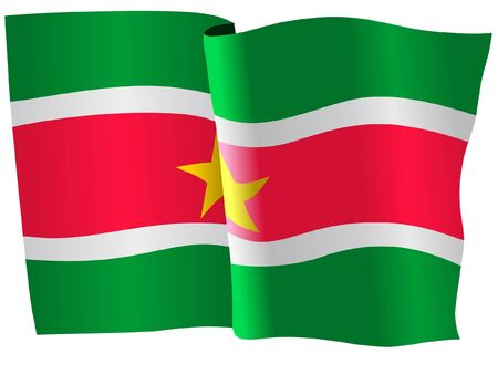 Suriname: flag of Suriname