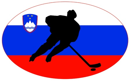 rung: hockey colors of Slovenia