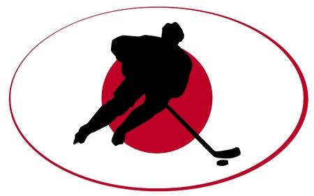rung: hockey colors of Japan