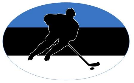 rung: hockey colors of Estonia