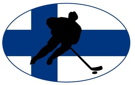rung: hockey colors of Finland