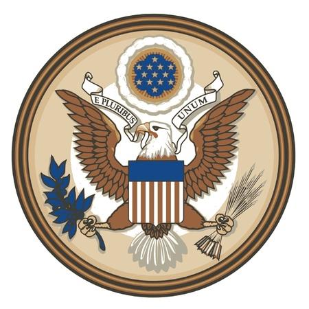 Grand sceau des Etats-Unis Vecteurs